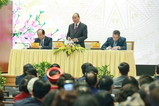 [ẢNH] Thủ tướng gặp mặt kiều bào tham dự chương trình Xuân quê hương 2020 - 5