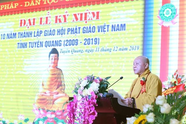 Phật giáo Tuyên Quang phát huy tinh thần đoàn kết - 1