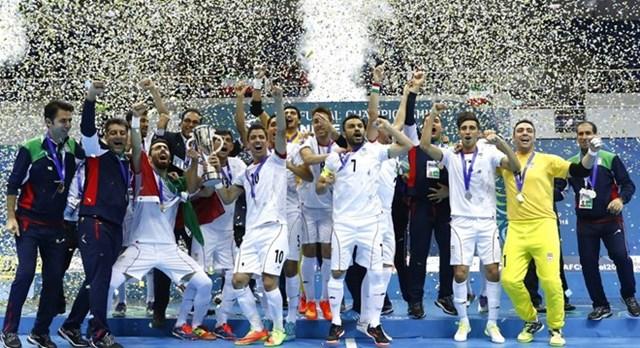 Iran lên ngôi vô địch Futsal châu Á sau màn vùi dập Nhật Bản