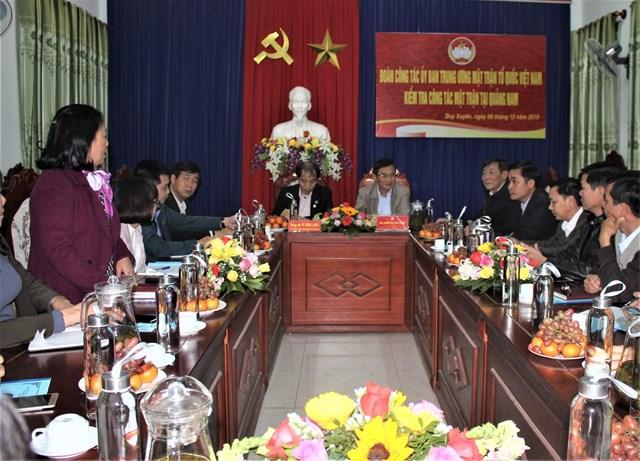 Duy Xuyên (Quảng Nam): Không ngừng xây dựng và tăng cường khối đại đoàn kết toàn dân