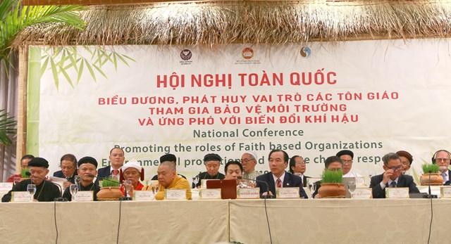 Các tổ chức tôn giáo cùng chung tay bảo vệ môi trường - 1
