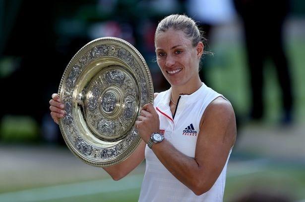 Đánh bại Serena, Angelique Kerber lần đầu vô địch ở Wimbledon