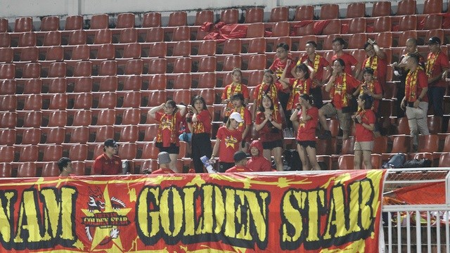 Khán đài sân Thống Nhất vắng vẻ trong ngày U19 Việt Nam thắng đậm Mông Cổ - 4