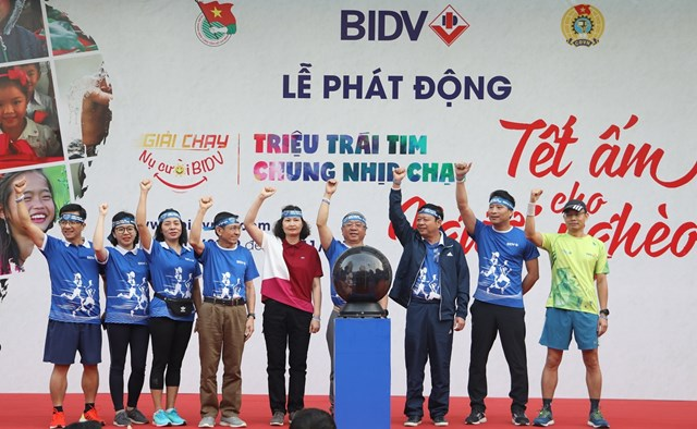 BIDV: Giải chạy online khởi động ấn tượng với hơn 16.000 người đăng ký tham gia - 1