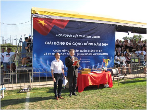 Cộng đồng người Việt tại Odessa tổ chức kỷ niệm Quốc khánh - 4