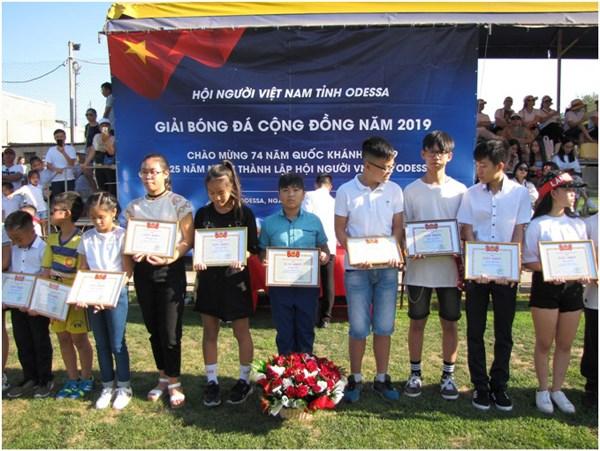 Cộng đồng người Việt tại Odessa tổ chức kỷ niệm Quốc khánh - 2