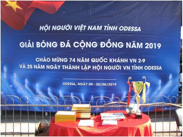 Cộng đồng người Việt tại Odessa tổ chức kỷ niệm Quốc khánh