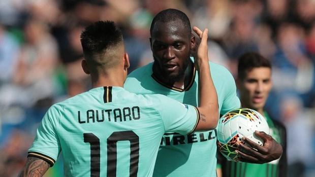 Lukaku lập cú đúp giúp Inter Milan giành chiến thắng kịch tính