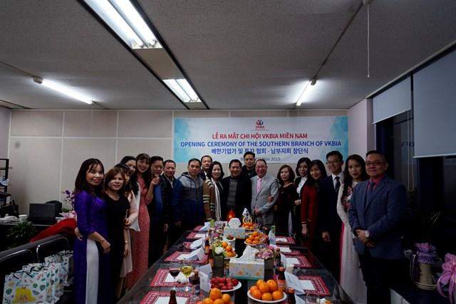 Ra mắt Chi hội VKBIA, miền Nam Hàn Quốc