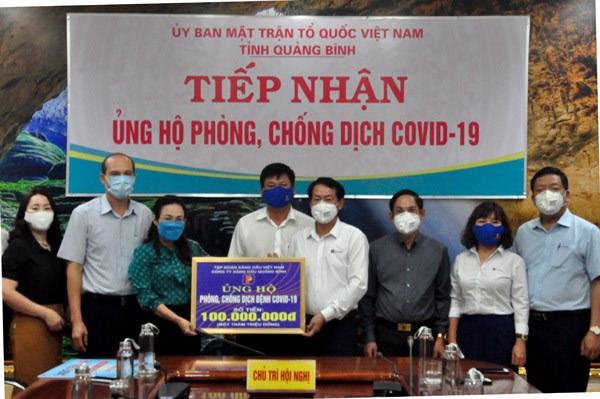 Mặt trận tỉnh Quảng Bình kêu gọi ủng hộ phòng, chống dịch Covid-19