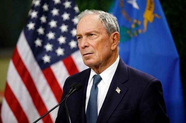 Tỷ phú Michael Bloomberg tham gia tranh cử Tổng thống Mỹ