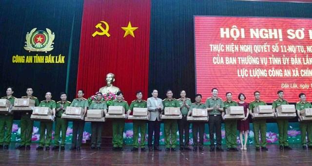 Đắk Lắk đã triển khai 456 Công an chính quy về các xã