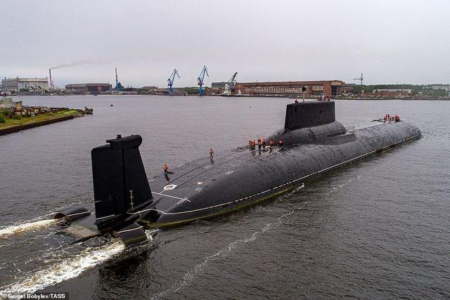 [ẢNH] Cuộc sống nhà binh bên trong tàu ngầm lớn nhất thế giới của Nga - 12