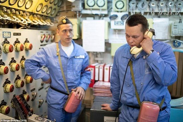 [ẢNH] Cuộc sống nhà binh bên trong tàu ngầm lớn nhất thế giới của Nga - 1