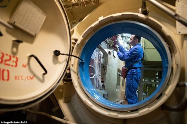 [ẢNH] Cuộc sống nhà binh bên trong tàu ngầm lớn nhất thế giới của Nga - 3