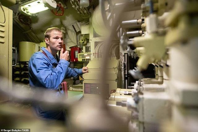 [ẢNH] Cuộc sống nhà binh bên trong tàu ngầm lớn nhất thế giới của Nga - 4