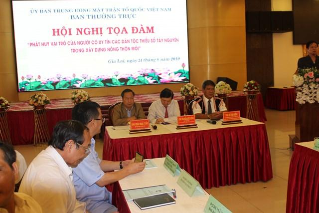 Người uy tín đóng vai trò quan trọng trong xây dựng, phát triển nông thôn mới ở Tây Nguyên - 2