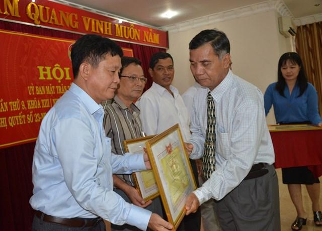 Hội nghị Ủy ban MTTQ Việt Nam tỉnh Đắk Lắk lần thứ 9, khóa XIII