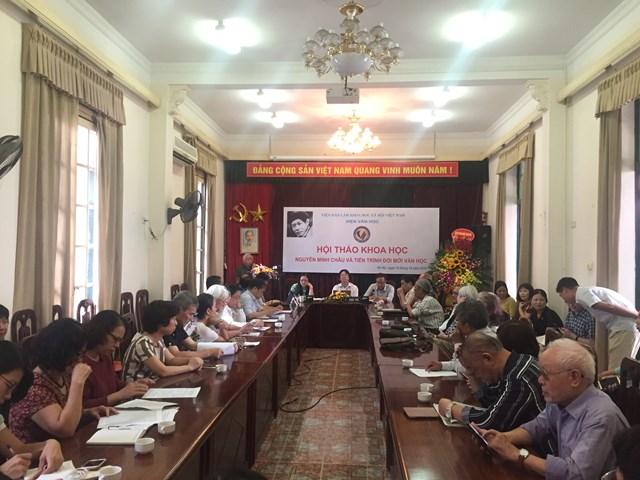 Nguyễn Minh Châu - nhà văn tiêu biểu cho tinh thần đổi mới