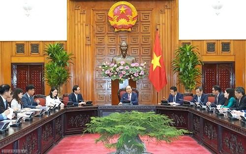 Thủ tướng tiếp Tổng Giám đốc Tổ hợp Samsung Việt Nam - 1