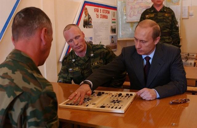 Chùm ảnh chưa từng được công bố của Tổng thống Nga Putin - 9