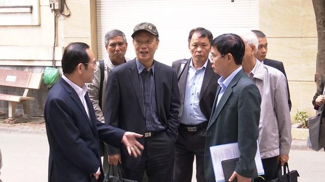 Mặt trận giám sát những vấn đề dân sinh bức xúc tại cụm chung cư 229