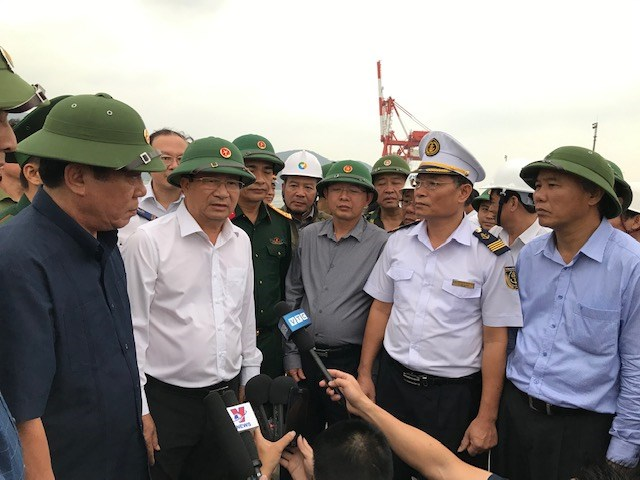 Bình Định: Hoàn thành mọi nhiệm vụ phòng, chống bão số 6 trước 12h00 ngày 10/11