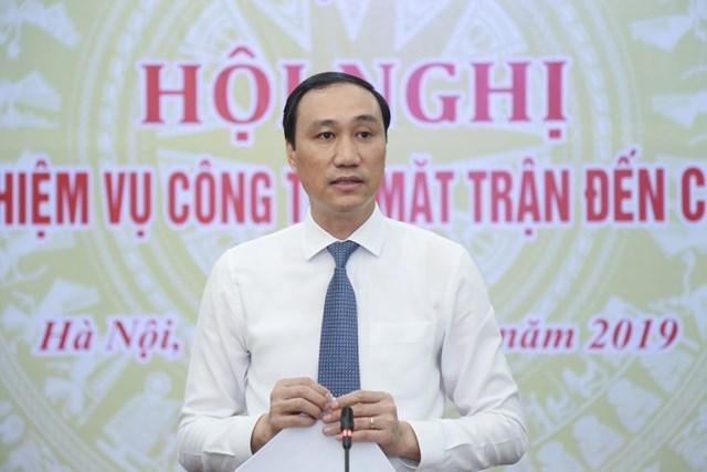 1.300 đại biểu tham dự Đại hội đại biểu toàn quốc MTTQ Việt Nam lần thứ IX - 1