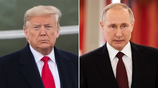 Tổng thống Nga-Mỹ ra tuyên bố chung nhân kỷ niệm 'cuộc gặp sông Elbe'