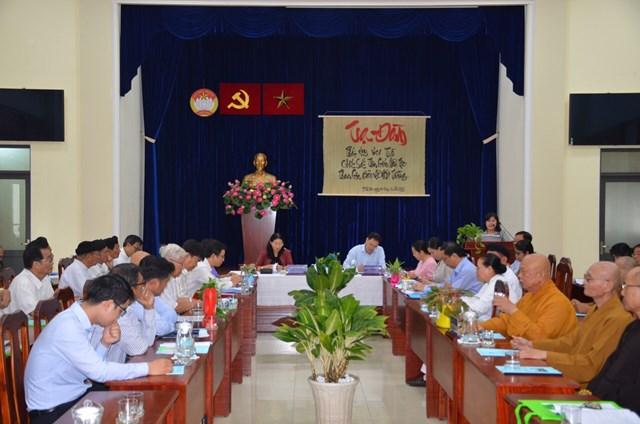 TP HCM: Chức sắc các tôn giáo, người có uy tín vận động người dân bảo vệ môi trường