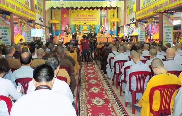 Khai mạc khóa bồi dưỡng kỹ năng lãnh đạo, quản lý thông tin truyền thông Phật giáo 2019 - 1
