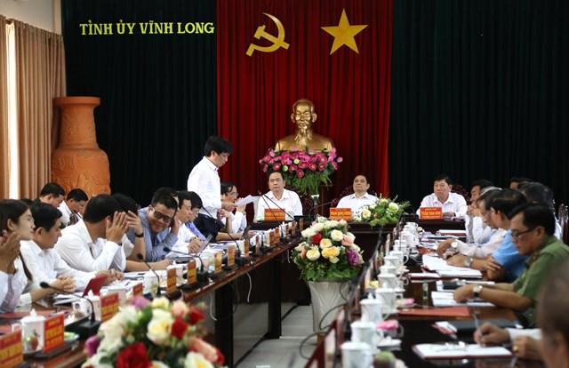 BẢN TIN MẶT TRẬN: Chủ tịch Trần Thanh Mẫn làm việc với Tỉnh uỷ Vĩnh Long