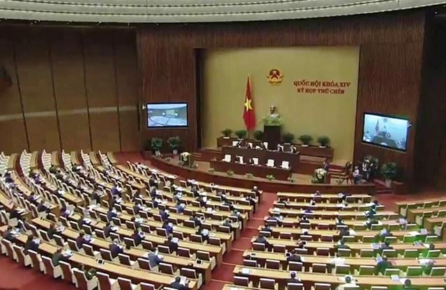 Khai mạc Kỳ họp thứ 9, Quốc hội khóa XIV - 2