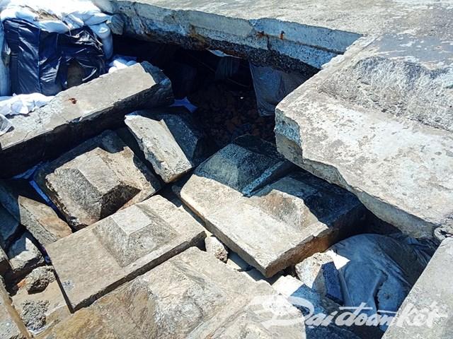 Quảng Nam: Sóng đánh sập bờ kè bờ biển Cửa Đại - 2