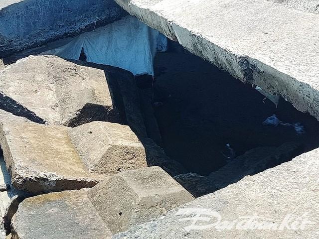 Quảng Nam: Sóng đánh sập bờ kè bờ biển Cửa Đại - 1