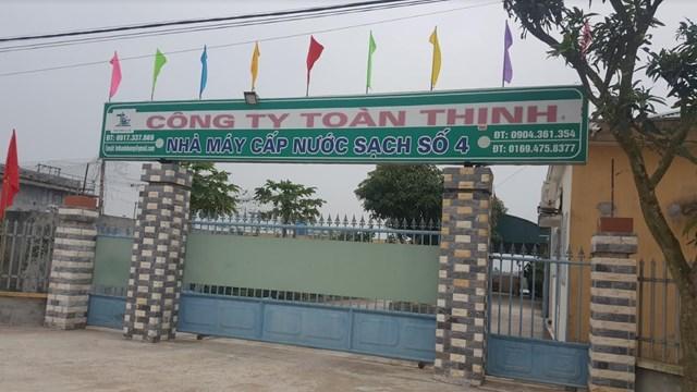 Thái Bình: Cận Tết, 18 xã nhận thông báo ngừng cấp nước sinh hoạt