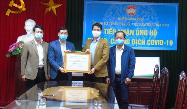 Thái Bình: Hơn 500 triệu đồng gửi Mặt trận ủng hộ phòng, chống dịch