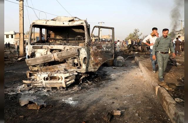 Taliban nhận trách nhiệm vụ đánh bom đẫm máu ở Afghanistan