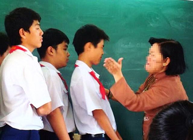 Khi học sinh bị phạt