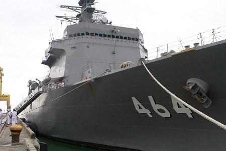 Bộ đôi tàu quét mìn hiện đại của Nhật Bản thăm Đà Nẵng - 1