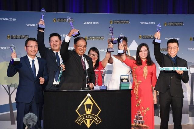 Các sản phẩm số của Viettel thắng lớn tại 'giải Oscar' dành cho giới kinh doanh quốc tế