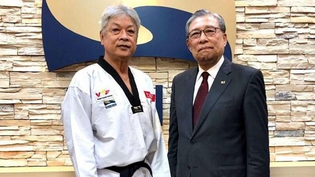 Võ sư đầu tiên của Việt Nam đạt 9 đẳng huyền đai Taekwondo thế giới
