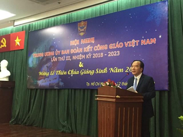 Hội nghị lần thứ 3 của Ủy ban Đoàn kết Công giáo Việt Nam nhiệm kỳ 2018 - 2023 - 1