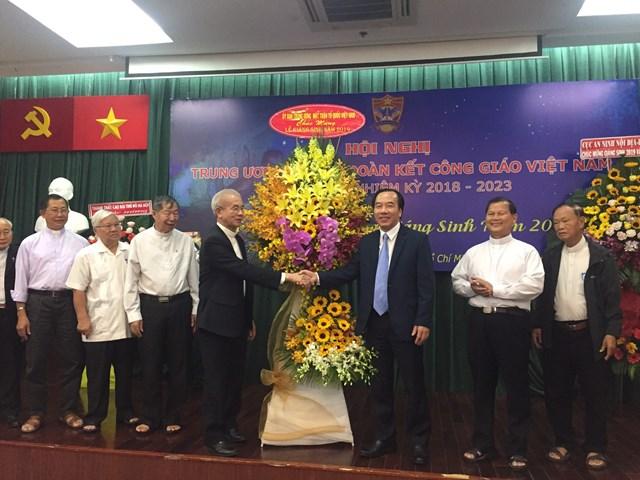 Hội nghị lần thứ 3 của Ủy ban Đoàn kết Công giáo Việt Nam nhiệm kỳ 2018 - 2023