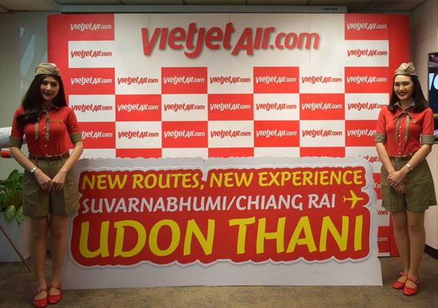 Chào đường bay mới từ Bangkok và Chiang Rai đến Udon Thani, Vietjet Thái Lan tung hơn 10.000 vé khuyến mãi chỉ từ 0 đồng - 1