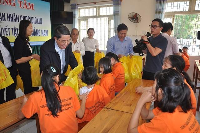 Chủ nhiệm Ủy ban Tài chính - Ngân sách Quốc hội Nguyễn Đức Hải thăm và chúc Tết Mặt trận Quảng Nam - 1