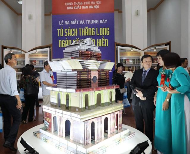 Ra mắt 'Tủ sách Thăng Long ngàn năm văn hiến' giai đoạn II
