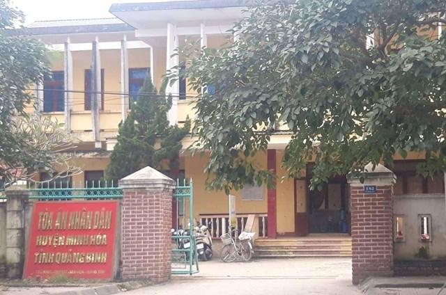 Quảng Bình: Kỷ luật Chánh án quan hệ tình dục với kế toán ngay tại nhiệm sở