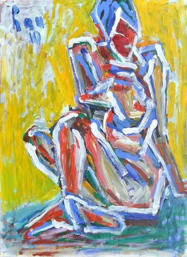 Họa sĩ Trần Lưu Hậu (1928 - 2020): Bậc thầy hội họa - 3