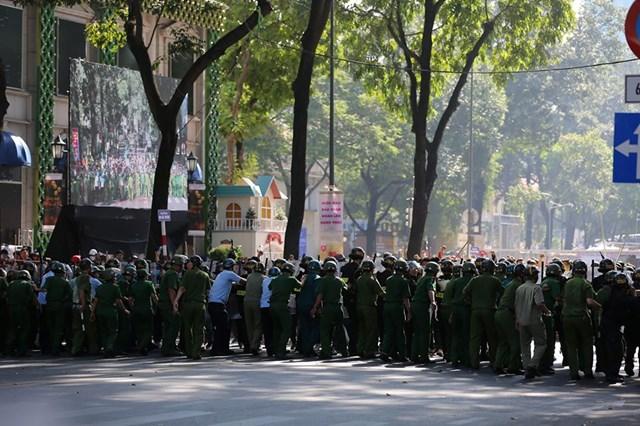 TP HCM huy động 4.000 người diễn tập chống khủng bố, gây rối trật tự - 1